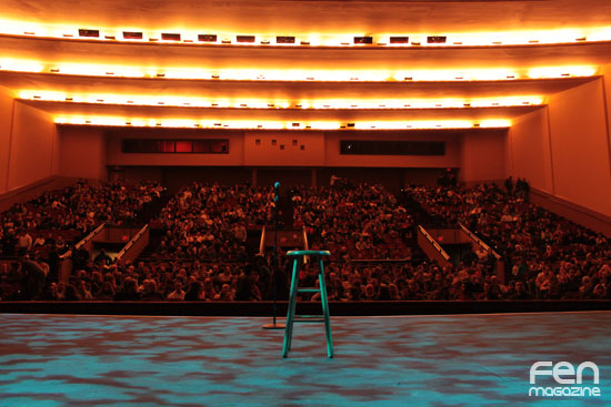 A Packed Lisner Theatre for Arabs Gone Wild