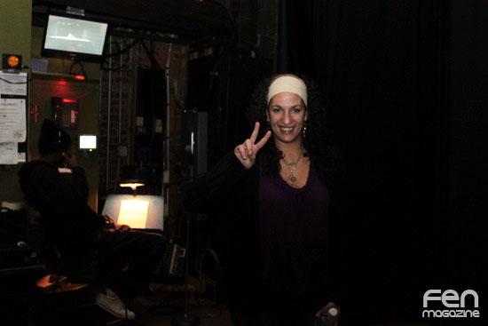 Funny Eman Backstage at Arabs Gone Wild